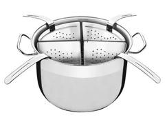 Panela Cozi-Pasta Tramontina Professional Aço Inox 4 Recipientes