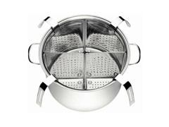 Panela Cozi-Pasta Tramontina Professional Aço Inox 4 Recipientes - 4
