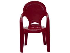 Cadeira Infantil Tramontina Tique Taque Vermelha