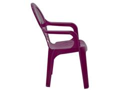 Cadeira Infantil Tramontina Tique Taque Rosa - 2