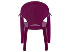 Cadeira Infantil Tramontina Tique Taque Rosa - 3