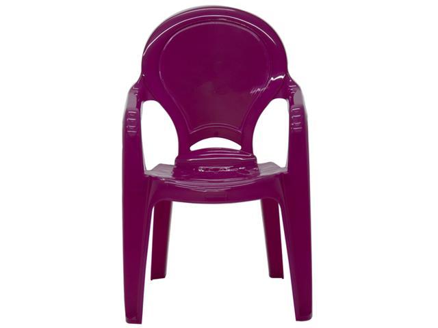 Cadeira Infantil Tramontina Tique Taque Rosa