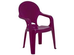 Cadeira Infantil Tramontina Tique Taque Rosa - 1