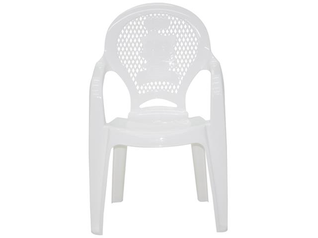 Cadeira Infantil Tramontina Estampada Catty  Branca