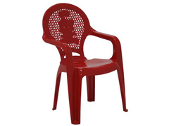 Cadeira Infantil Tramontina Estampada Catty  Vermelha - 1