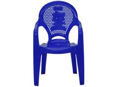 Cadeira Infantil Tramontina Estampada Catty Azul