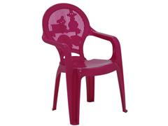 Cadeira Infantil Tramontina Estampada Catty Rosa 2 - 1