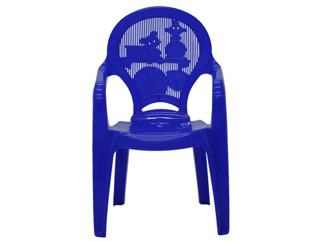 Cadeira Infantil Tramontina Estampada Catty Azul 2