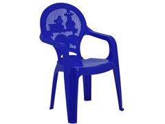 Cadeira Infantil Tramontina Estampada Catty Azul 2 - 1