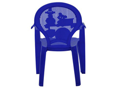 Cadeira Infantil Tramontina Estampada Catty Azul 2 - 3