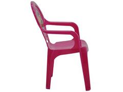 Cadeira Infantil Tramontina Catty Adesivo Rosa - 2