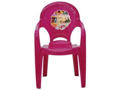 Cadeira Infantil Tramontina Catty Adesivo Rosa