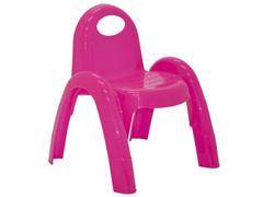 Cadeira Infantil Tramontina Popi Rosa - 1
