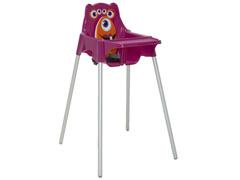 Cadeira Infantil Alta Tramontina Monster Rosa - 1