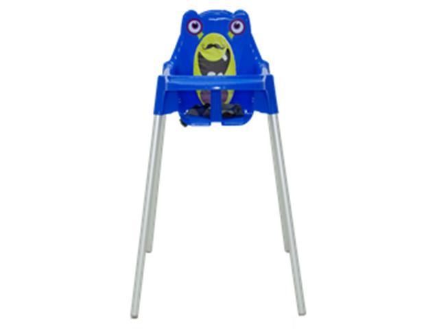 Cadeira Infantil Alta Tramontina Monster Azul