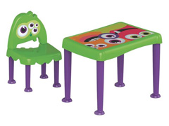 Conjunto Mesa e Cadeira Tramontina Monster