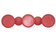 Cabide em formato Bola Tramontina Vermelho
