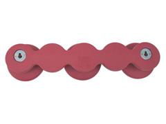 Cabide em formato Bola Tramontina Vermelho - 1