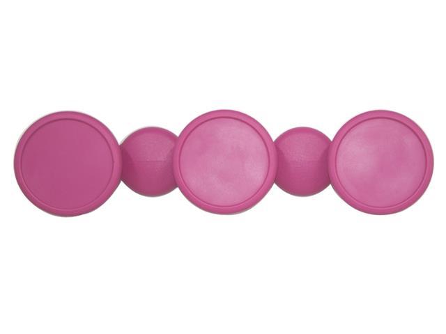 Cabide em formato Bola Tramontina Rosa