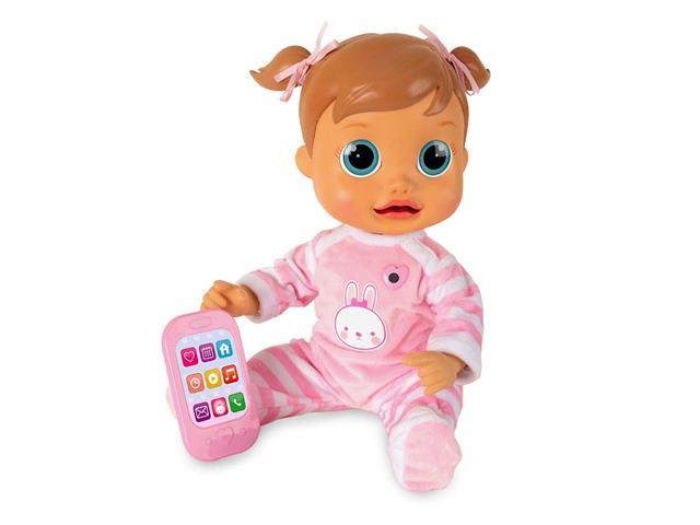Boneca Baby Wow Analu Multikids Rosa