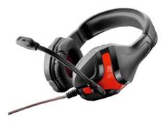 Headset Gamer Multilaser Warrior P2 Preto e Vermelho - 1
