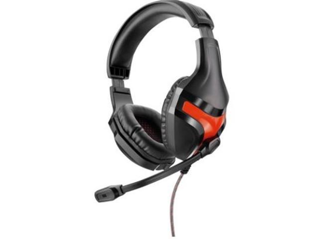 Headset Gamer Multilaser Warrior P2 Preto e Vermelho