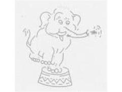 Prato Infantil Tramontina Baby Elefante - 1
