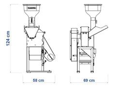 Triturador Tramontina TRE40 3HP Monofásico Bivolt - 3