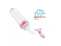Colher Dosadora Multikids para Papinha Funny Meal Rosa - 2