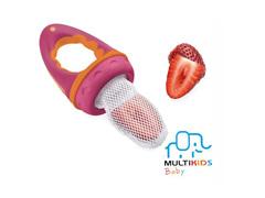 Alimentador com Tela Multikids para Bebês Rosa