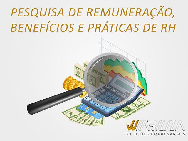 Pesquisa de Remuneração, Benefícios e Práticas de RH - Wiabiliza
