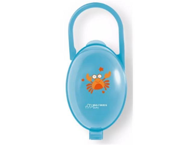 Porta Chupeta Multikids Azul
