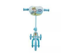 Patinete Infantil MOR Ursinho Azul com 3 Rodinhas - 2