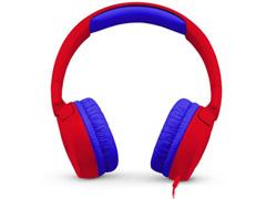 Fones de Ouvido Infantil JBL JR300 Supra-Auriculares Vermelho - 1