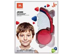 Fones de Ouvido Infantil JBL JR300 Supra-Auriculares Vermelho - 5