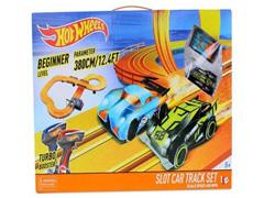 Autorama Pista Hot Wheels Multikids Track Set 3,80 M - 3