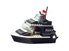 Blocos de Montar  Polícia Guarda Costeira Multikids 98 Peças
