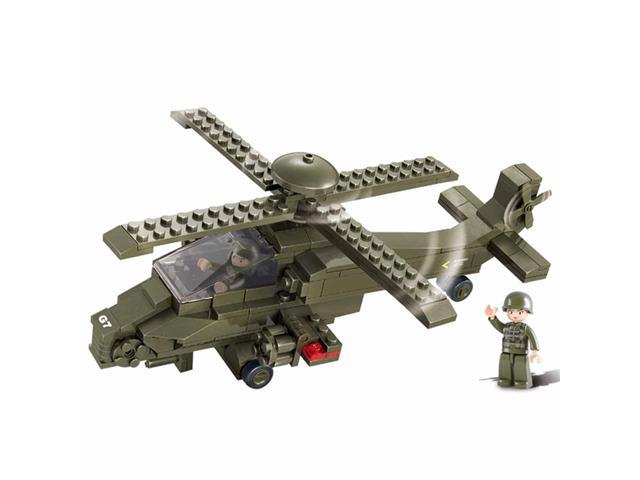 Blocos de Montar  Land Forces Helicóptero Multikids 199 Peças
