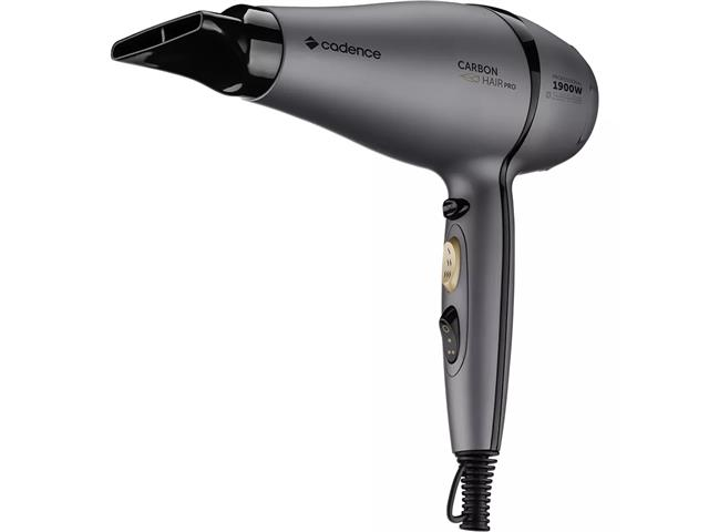 Secador Profissional Carbon Hair Pro Cadence Preto