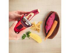 Descascador de Alimentos Yuze Peeler Vermelho - 3