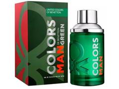 Perfume Colors Green Blue Benetton Eau de Toilette Masculino 60mL - 1