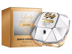Perfume Feminino Lady Million Lucky Paco Rabanne Eau de Parfum 80mL - 1