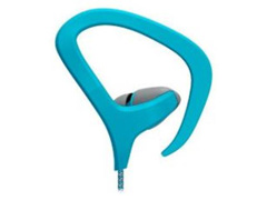 Fone de Ouvido Multilaser Earhook Cabo de Nylon com Microfone Azul - 2
