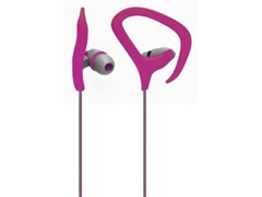 Fone de Ouvido Multilaser Earhook Cabo de Nylon com Microfone Rosa