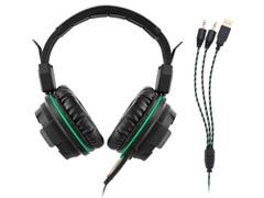 Headphone Gamer Multilaser USB Led Ligth Green - 1