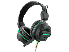 Headphone Gamer Multilaser USB Led Ligth Green