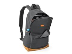"Mochila para Notebook Multilaser Backpack Preta e Marrom 15.6"" - 1"