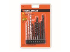 Jogo de Brocas 9 Peças 15560EP BLACK+DECKER - 0