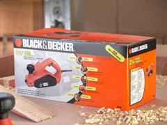 "Plaina Elétrica 3.1/4""  Black & Decker 650W 220V - 7"