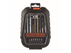 Jogo De Furar Parafusar Com 16 Peças A7186-XJ BLACK+DECKER - 2